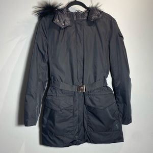 ADD DOWN Black Label*Fur Hooded Coat**US 4**$1495